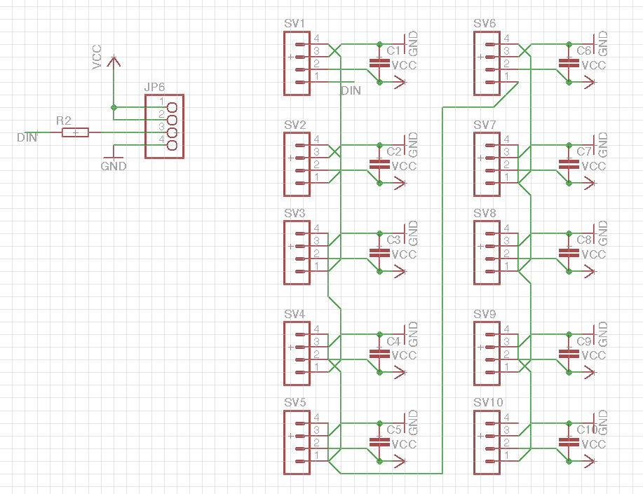 Arduino Neopixel Christmas tree | Electronics and programming
